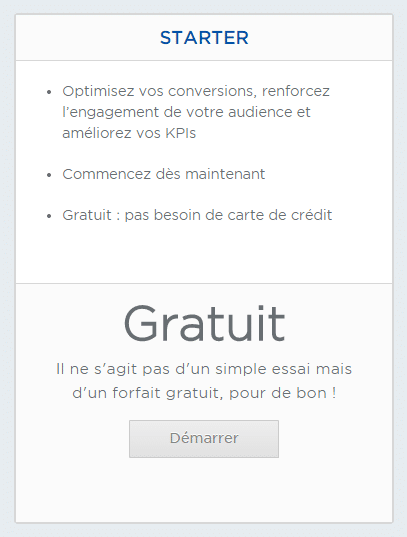 optimizely gratuitement
